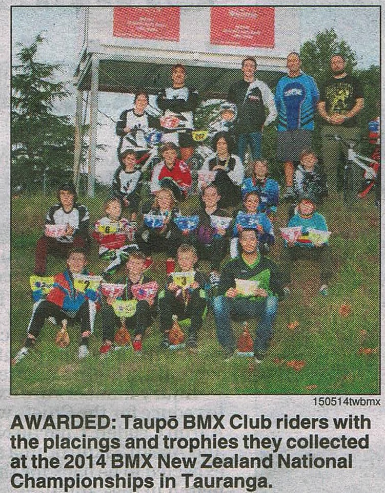 Taupo Riders Battle For Honours