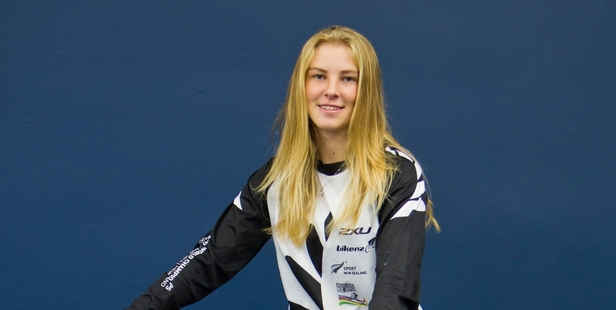 Amy Martin was knocked out in a quarterfinal at the BMX world champs in July but has set herself new goals.