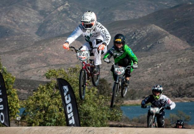 New Zealand BMX riders launch towards Rio