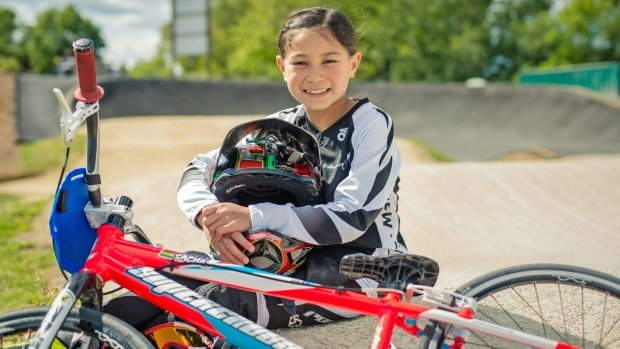 Young BMX champ eyes up third title