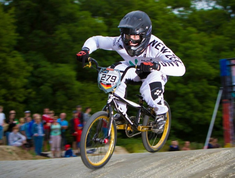 JONES UPSETS WORLD CHAMPION IN BMX OLYMPIC QUALIFIER