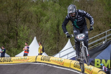 Willers, Walker Lead Seven-Strong BMX Team For World Championships
