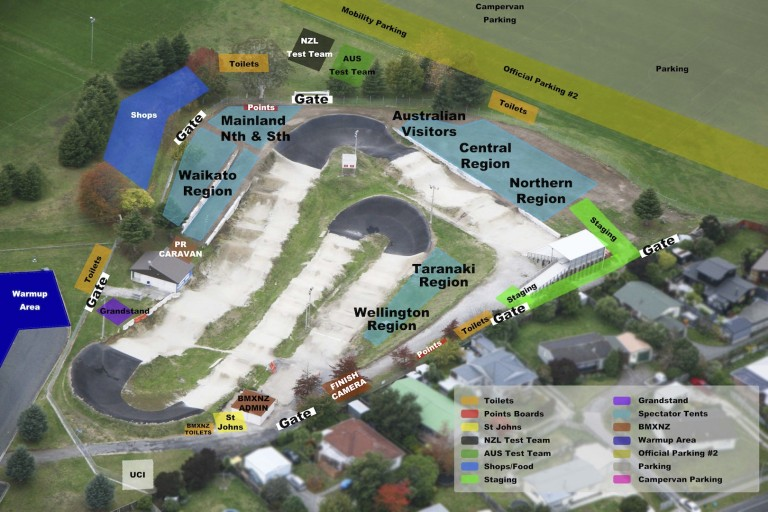 2015 BMXNZ Norths Site Plan & Parking