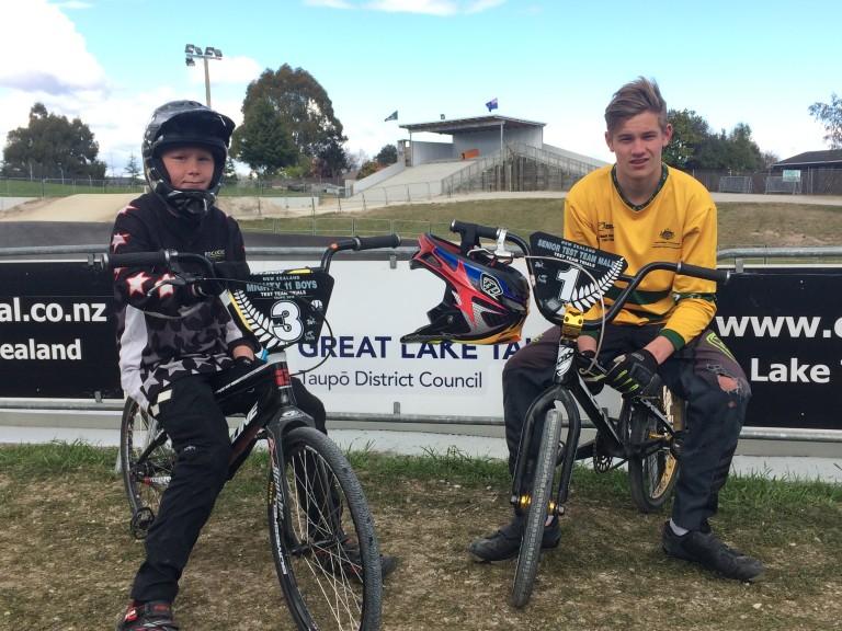 Taupo riders make test teams
