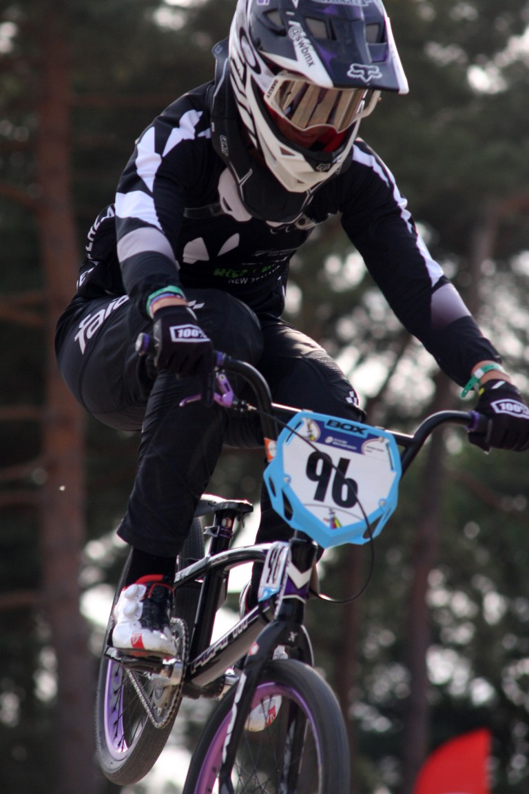 World champions add excitement to Oceania BMX Championships