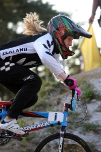 Leila Walker in action at last year's world champs