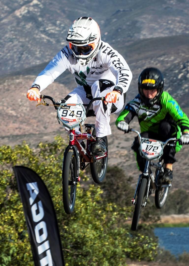 Jones, Cameron qualify in opening BMX Supercross World Cup
