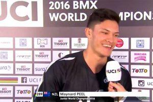Maynard Peel - BMX World Champion