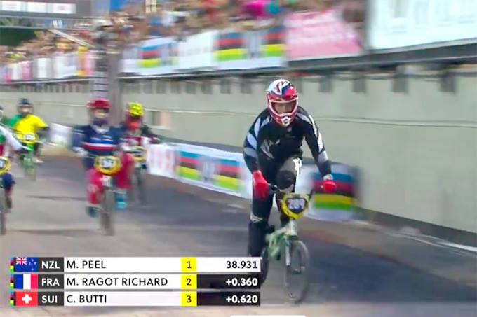 New Kiwi BMX World Champion – Maynard Peel