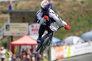 Maynard Peel competing at the Oceania Championships earlier this year. Credit: Darryl Carey