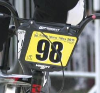 BMX Race Plates Standards in New Zealand