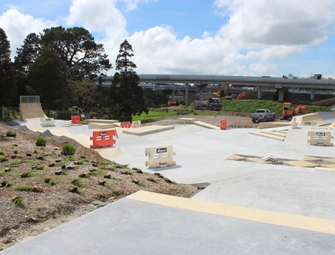 Skate park and BMX track opening in time for summer