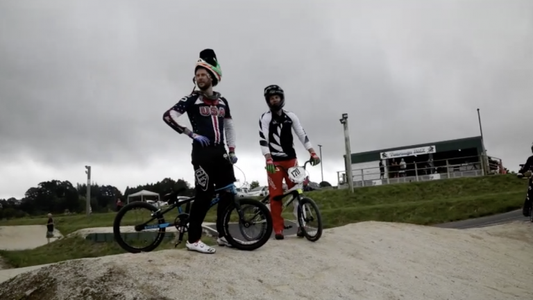 Olympians take young riders through their paces