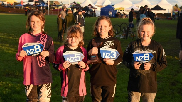 Paeroa BMX club members do well at national champs