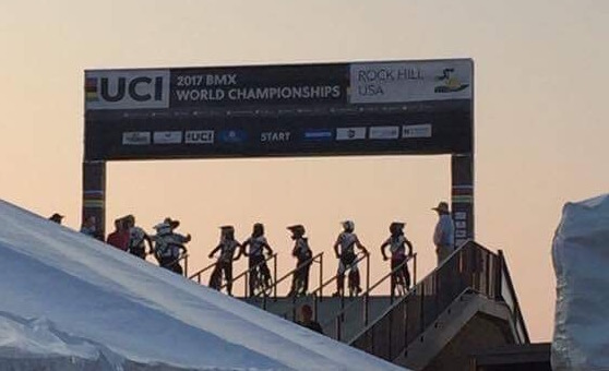 Kiwis Day 1 – UCI World Championships – Rock Hill USA