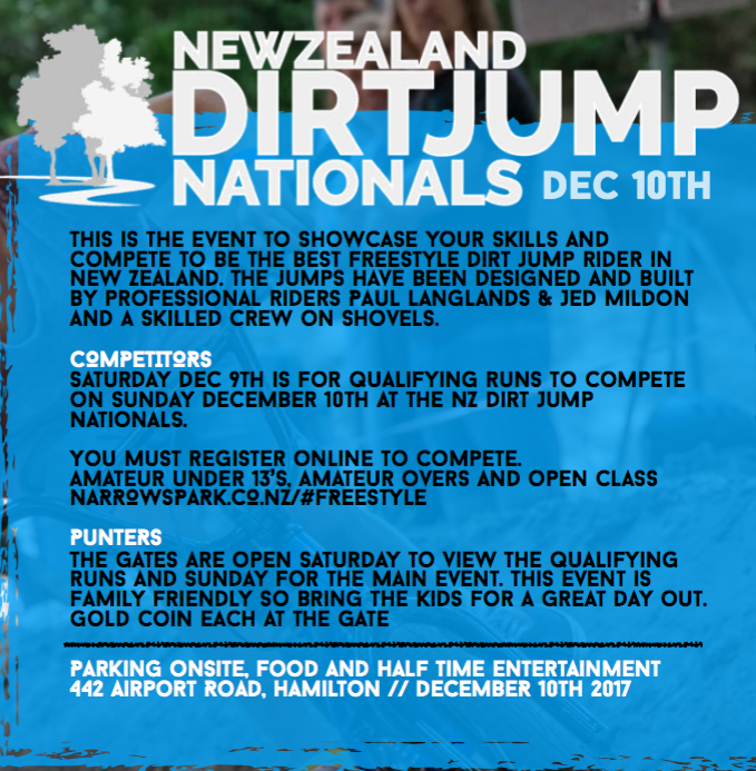 NZ Dirt Jump Nationals