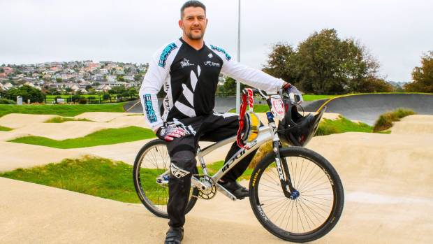 BMX champion hopes to stay upright