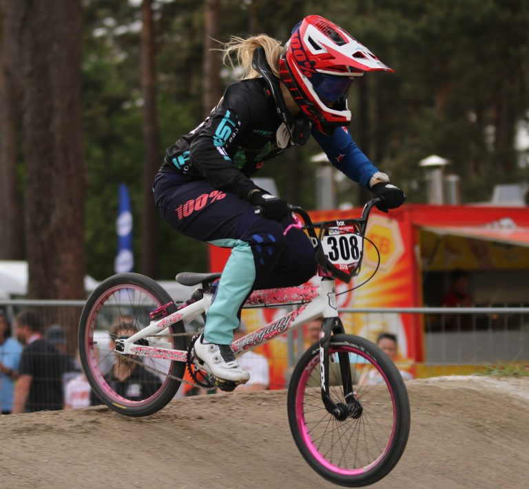 Petch prospers in UCI BMX World Cup Supercross in Belgium