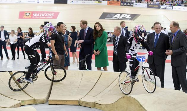 Opening of the National Cycling Centre