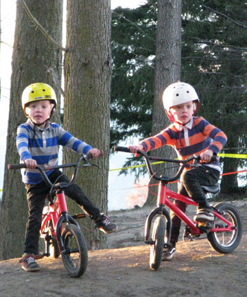 BMX twins take off on YouTube