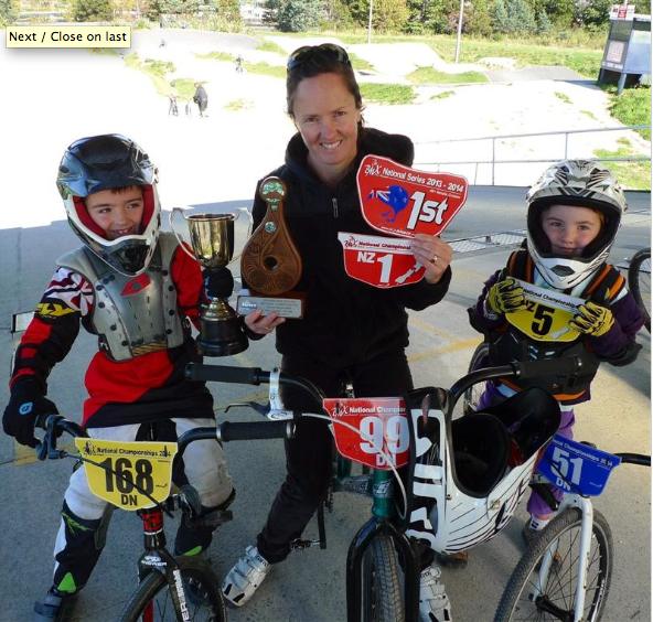 National champ followed son into sport