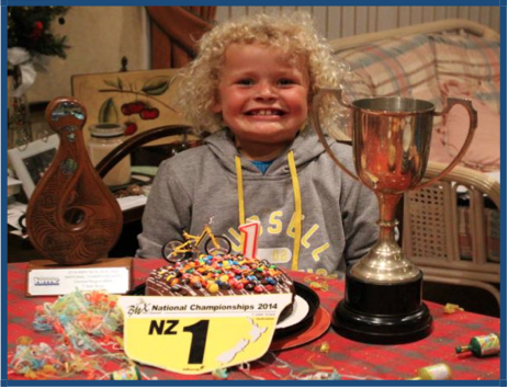 Riley Nikolajenko NZ1- 7yr Boys