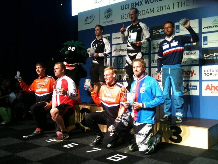Cruiser class represent NZ at the BMX World Champs
