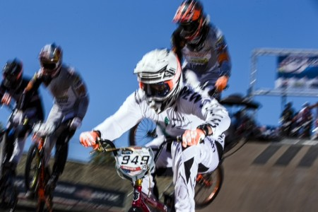 KIWI BMX RIDERS BUOYED BY DAUNTING TEST IN USA