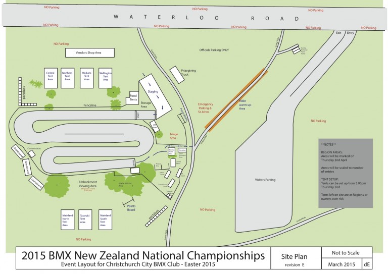 2015 Nationals Site Plan