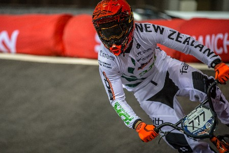 Willers leads Kiwi BMX riders into semifinals at Manchester