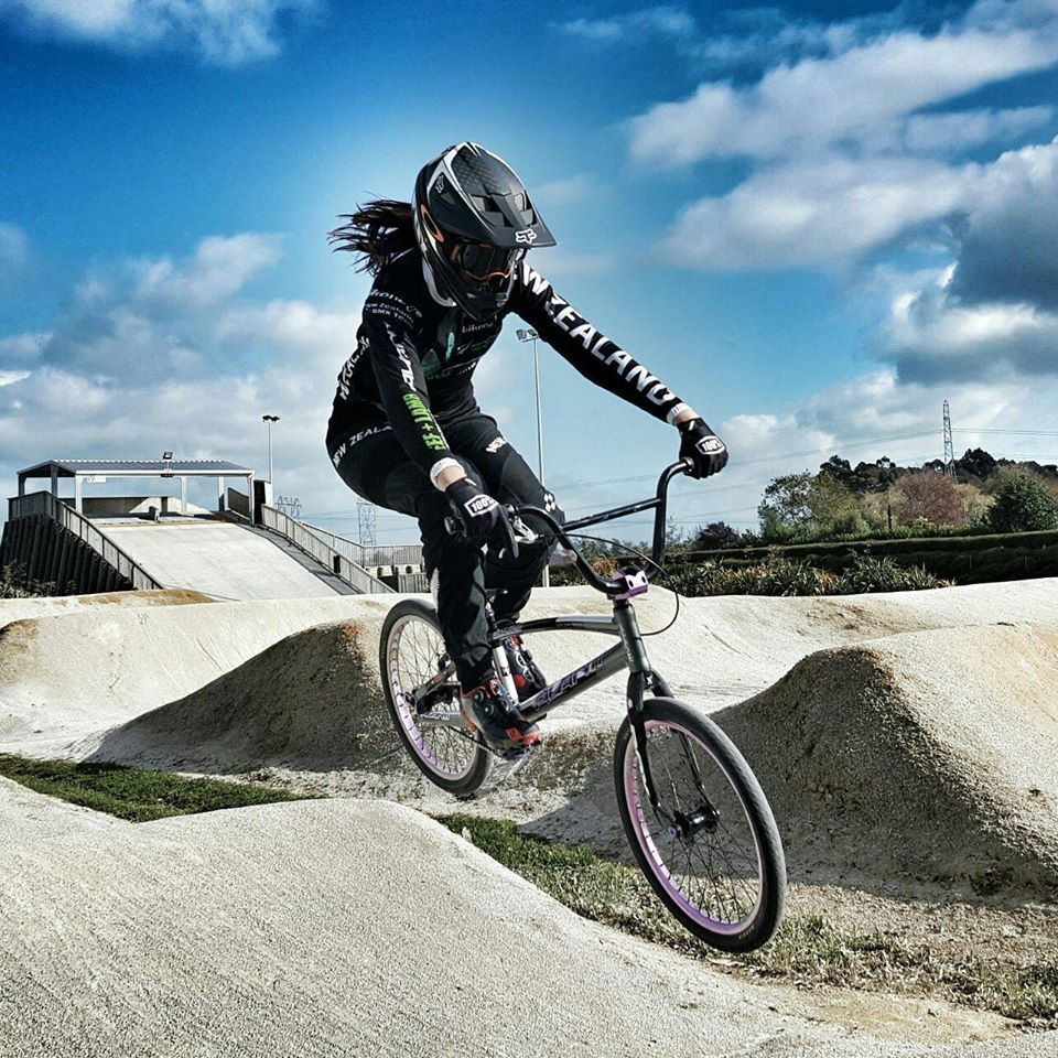 Safety-first return for Walker, no luck for men at BMX World Cup