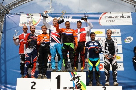 Coker Best Of Kiwis On Day Two Of BMX World Champs