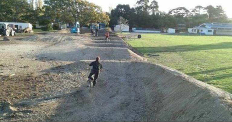 Kahutara School BMX Track – Project Limestone