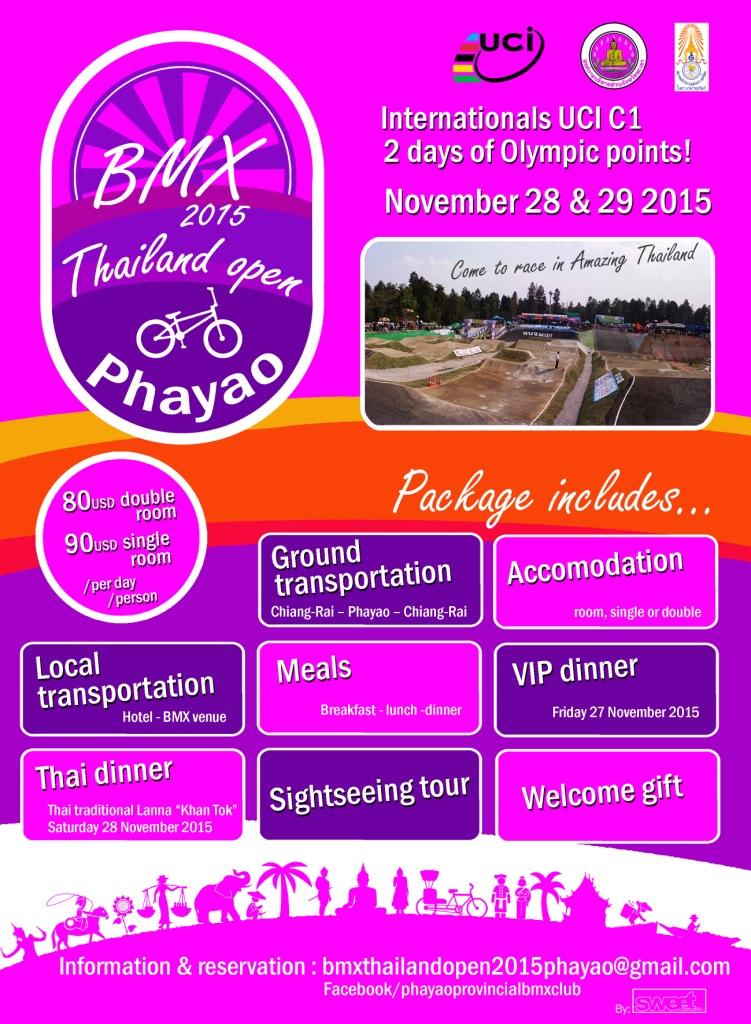 BMX Thailand C1 Event
