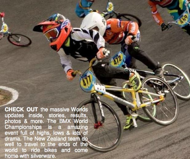 BMXNZ Newsletter Worlds Edition