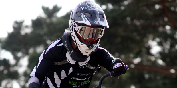 Walker makes semi-finals before crash in UCI BMX World Cup Supercross