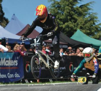 Big dreams for Hamilton BMX rider