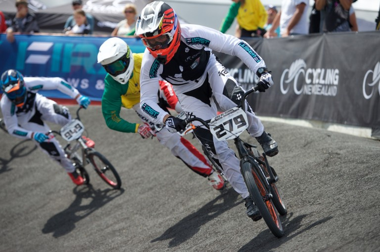 Jones misses out in BMX World Cup in Manchester