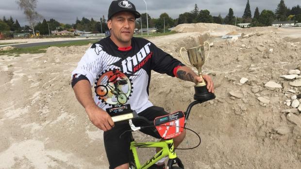 Former Tokoroa BMX champ returns victorious