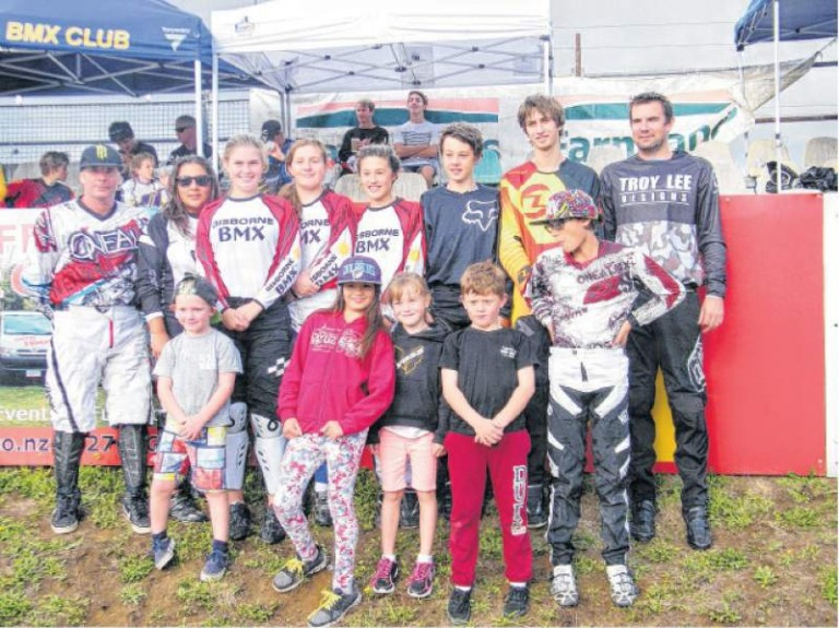 Gisborne BMX shines at Nationals