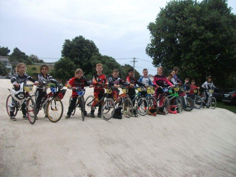 Kapiti Racers take on the BMX National Champs