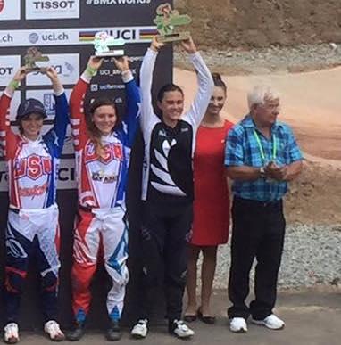 Smith, Woodcock-Takarua add to Kiwi world championship BMX success