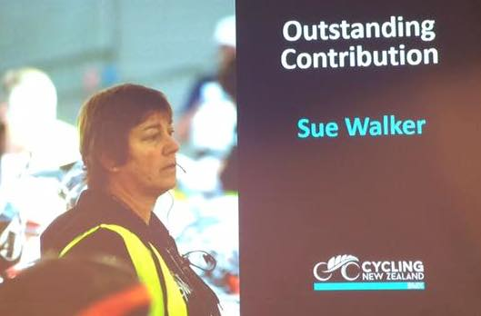 2015 Outstanding Contribution Award – Sue Walker