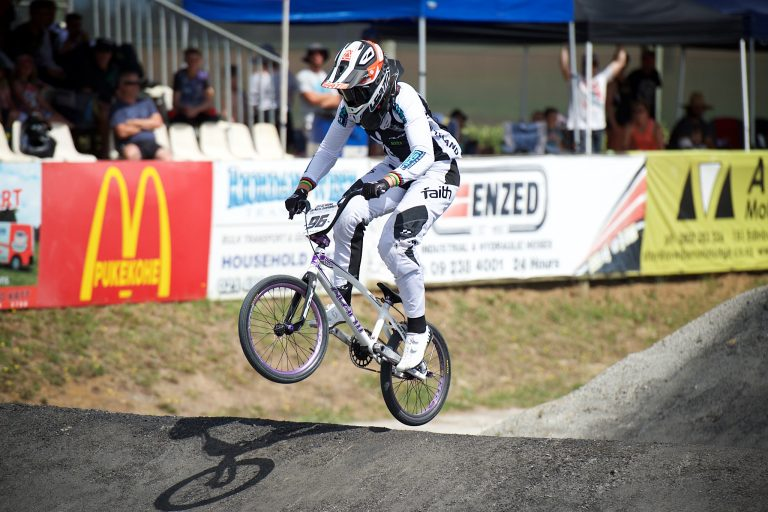Walker safely through first comeback test in BMX World Cup