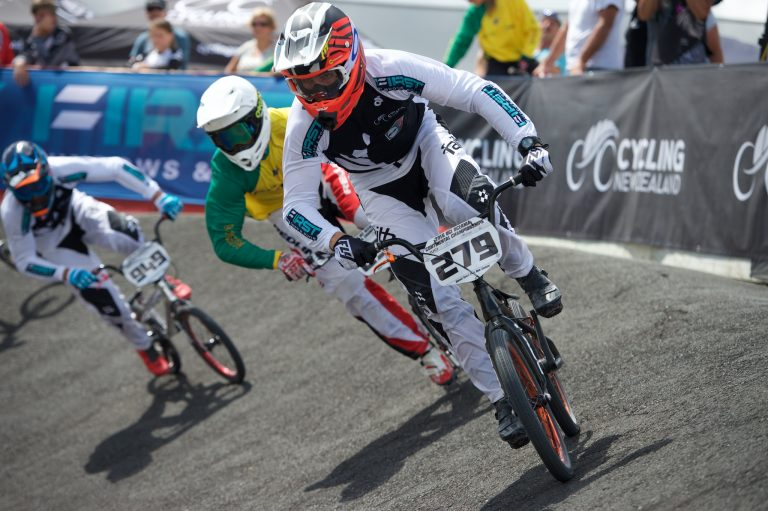 Jones leads Kiwis in qualifying at UCI BMX Supercross World Cup