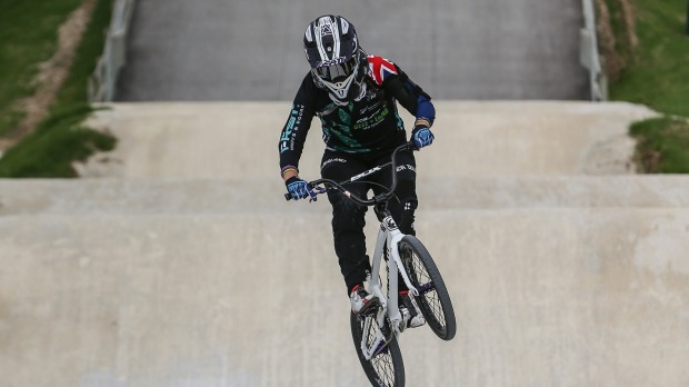 Walker prevails as she eyes return to international BMX racing