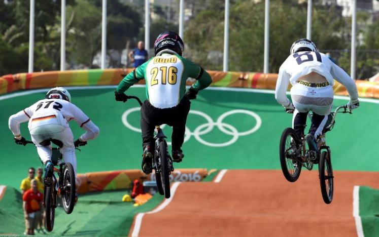 Strombergs critical of Olympic BMX course