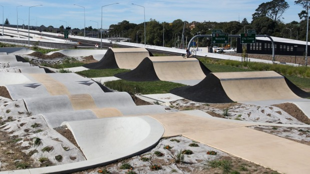 Waterview BMX park's pump track criticised