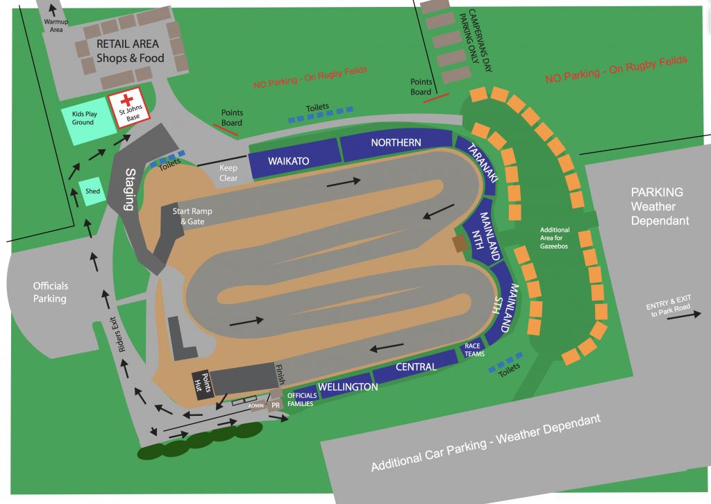 2017 FIRST BMXNZ National Championships – Event Information