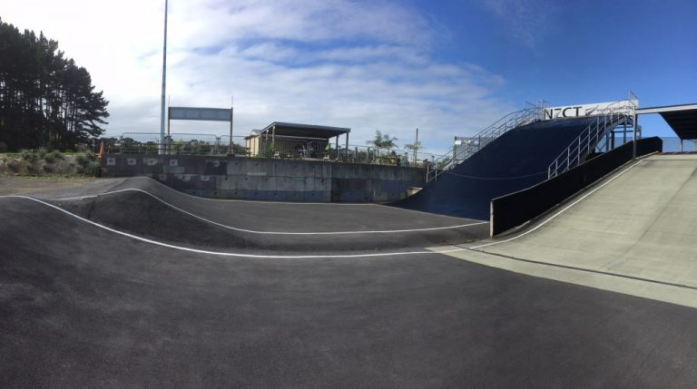 Puni 8m ramp open to riders